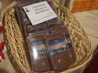 Blackberryチョコ