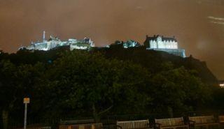 エジンバラ城 ライトアップ