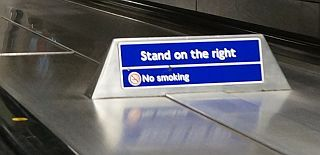 Stand on the right